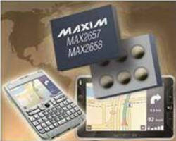 Low-Noise Amplifiers offer 0.8 dB GPS receive sensitivity.