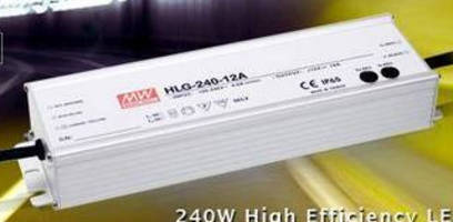 LED Power Supply (240 W) operates with up to 94% efficiency.
