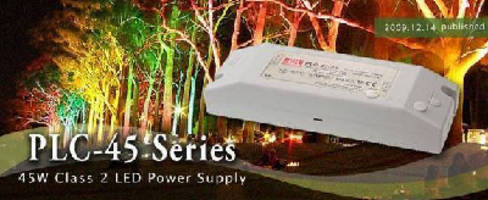 Class 2 Power Supplies target LED lighting applications.