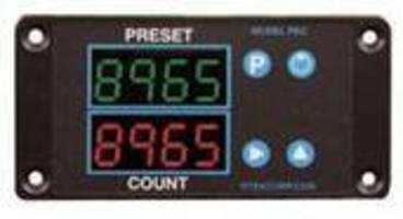 Batch Counter/Timer offers presetable operation.