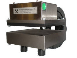 Pneumatic Sample Cutter prepares samples up to 10 x 10 in.