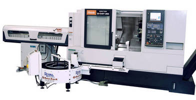 High-Productivity Turning Center is suited for job shops.