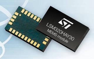 Motion Sensor Module combines linear/angular motion sensing.