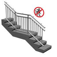 Hollaender® Handrail Systems Double as Skateboard Deterrent