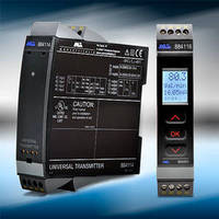 Universal Signal Conditioners feature slim-line housings.