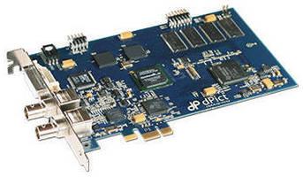 PCIe Video Frame Grabber suits hi-res HDTV video inputs.