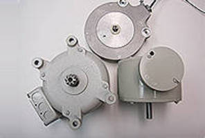 AC and DC Motors suit freight elevator gates and doors.