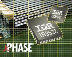Control/Phase ICs power DDR3 memory modules.