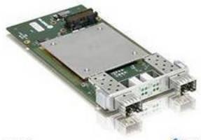 XMC Mezzanine Board offers two 10 GbE interfaces.