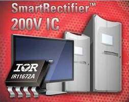 Rectifier IC features Minimum On Time protection circuitry.