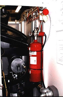 Suppression System stops flash- fires inside CNC machines.