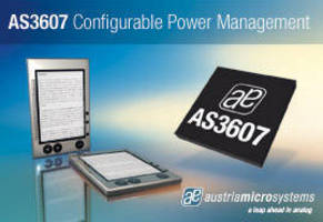 Power Management IC features configurable start-up sequences.