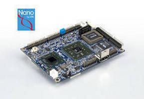 Pico-ITX Board features 64-bit VIA Nano processor.