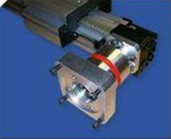 Inline Planetary Gear Boxes eliminate need for motor mounts.