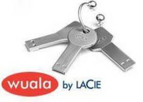 USB Flash Keys include Wuala online storage.