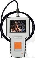 Video Borescope includes wide-view color LCD.