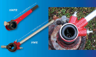 Hydrant Wrenches feature ratcheting action.