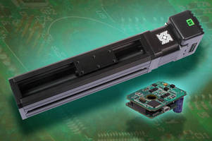 Linear Rail System is available with various motor options.