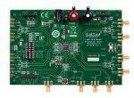 Development Board targets SerDes and video clock distribution.