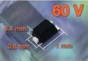 Power MOSFET delivers space savings for small-signal applications.