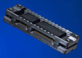 PCB Connector suits high-speed edgecard applications.