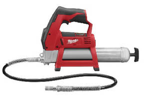 Cordless Grease Gun delivers over 8,000 psi.