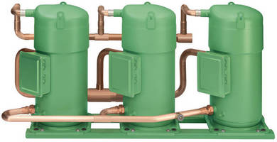 Scroll Compressors suit air- or water-cooled applications.