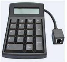 Keypad Terminals include wipe-clean, wall-mount versions.