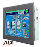 Touchscreen Panel PC utilizes Power over Ethernet technology.