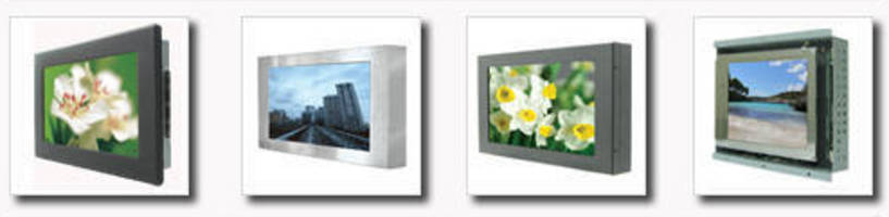 Industrial Grade Monitors target various applications.