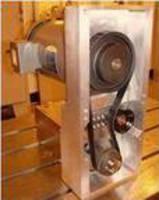 Belt Tensioner features factory adjusted design.