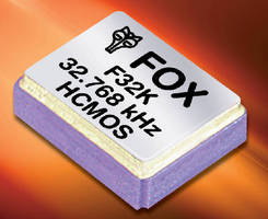 HCMOS Oscillators feature low current consumption.