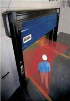 High-Speed Doors are available with safety detection system.