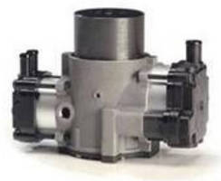 Pressure/Vacuum Pump features high-efficiency motor.