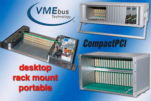 Card Cages are configurable for cPCI, PXI, VMEbus, VME64X, VPX.