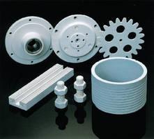 Machinable Ceramic provides thermal conductivity.