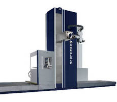 Boring-Milling Machine provides spindle speeds to 6,000 rpm.