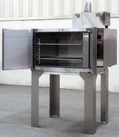 Electrically Heated Bench Oven is rated to 350°F.