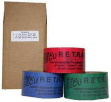 Tamper Evident Tape comes in colorful 3-pack.