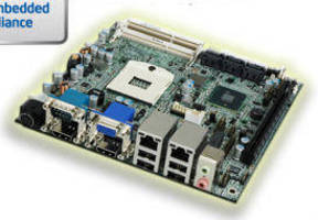 Mini-ITX Motherboard uses Intel Active Management Technology.