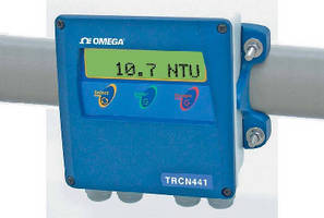 Turbidity Analyzers feature transmitter and control outputs.