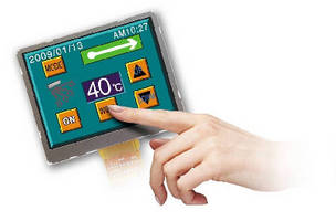Capacitive Touchscreens provide optimal transparency.
