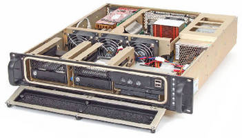 Mil-Grade Rackmount Computer withstands shock and vibration.