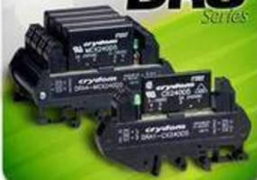 Solid State Relays and Sockets feature DIN rail mount design.
