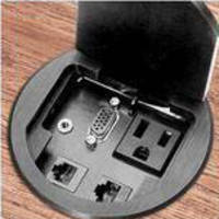 Table Top Boxes provide various connectivity receptacles.