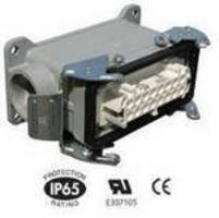 Industrial Rectangular Connectors offer ratings up to 16 A.