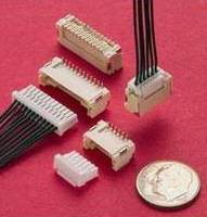 Locking Wire-to-Board Connector suits high-density applications.