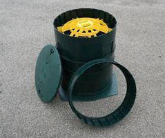 Adjustable Manway Riser Kits can be customized on job site.