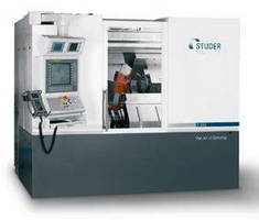 Cylindrical Grinder offers complete machining of shaft parts.