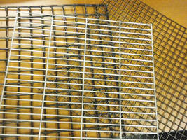 Cage Mesh provides consistent wire spacing.